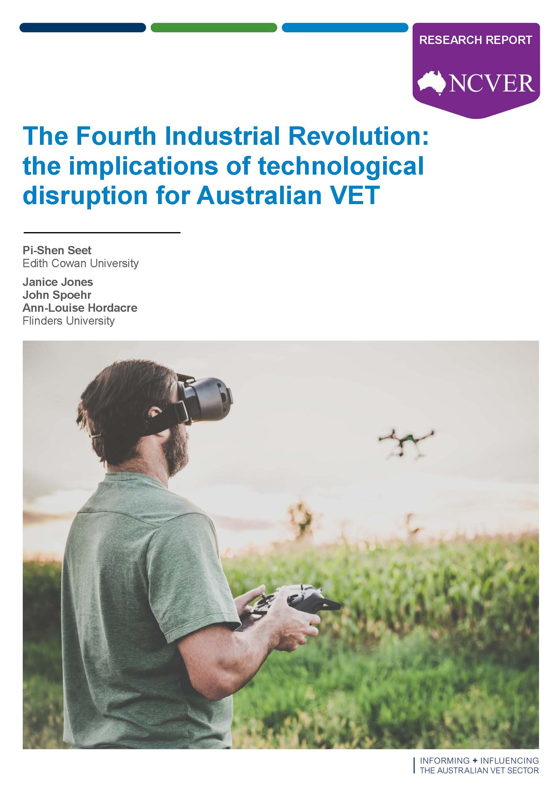 The Fourth Industrial Revolution - the implications of technological disruption for Australian VET