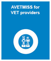 AVETMISS for VET providers link