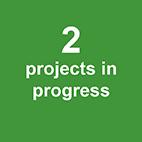 3 projects in progress