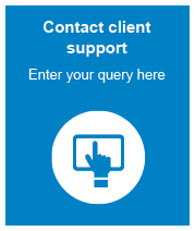 An online form to contact the client support team.