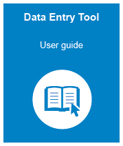 The user guide for using the data entry tool. This is a pdf file